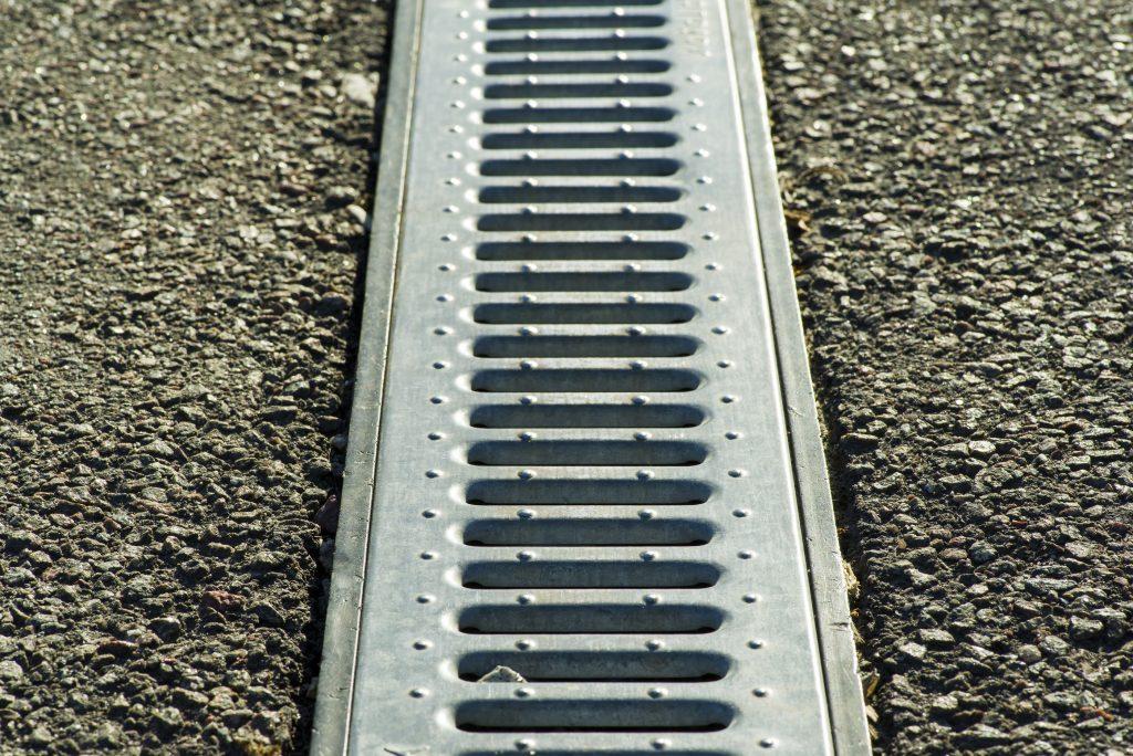 concrete gutter