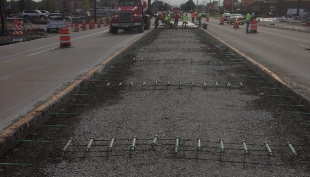 IDOT concrete pavement
